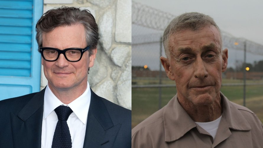 Colin Firth als Michael Peterson in The Staircase voor HBO Max
