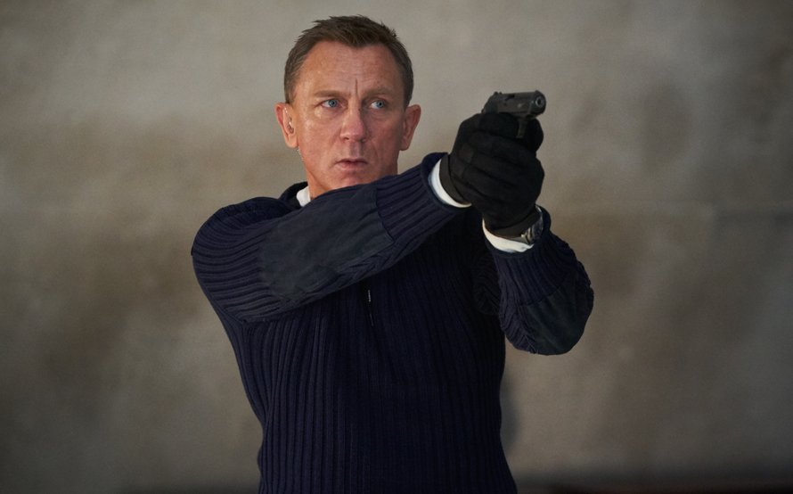 Daniel Craig als James Bond 007 in No Time to Die 2021