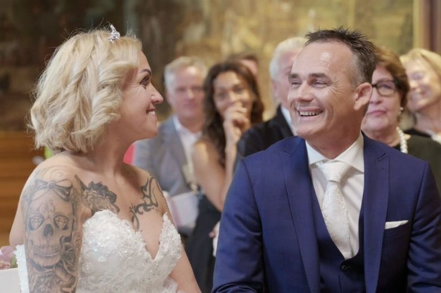 mafs married at first sight 2020 henk chantal huwelijk bruiloft