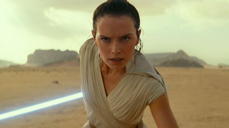 Daisy Ridley als Rey in Star Wars: The Rise of Skywalker