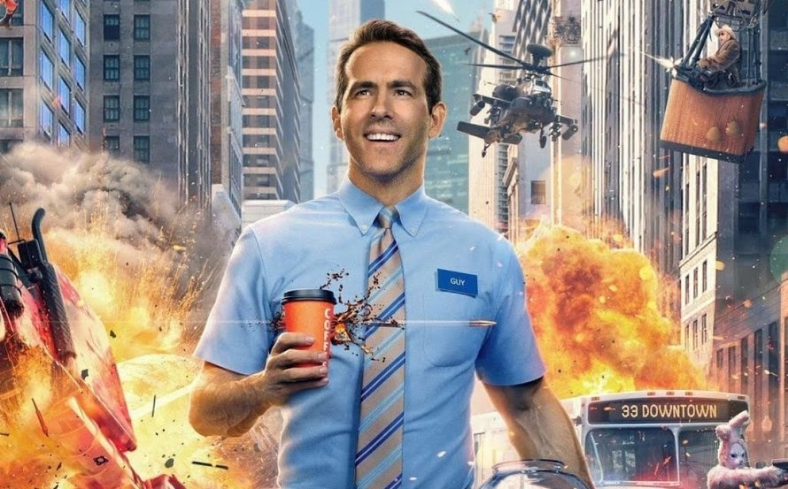 Ryan Reynolds in trailer Free Guy 2020