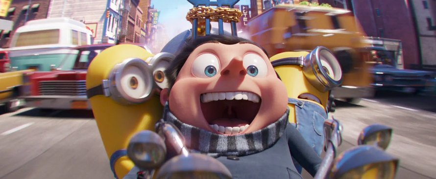Minions The Rise of Gru - Teaser