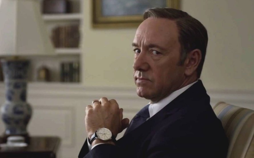Kevin Spacey als Frank Underwood in House of Cards
