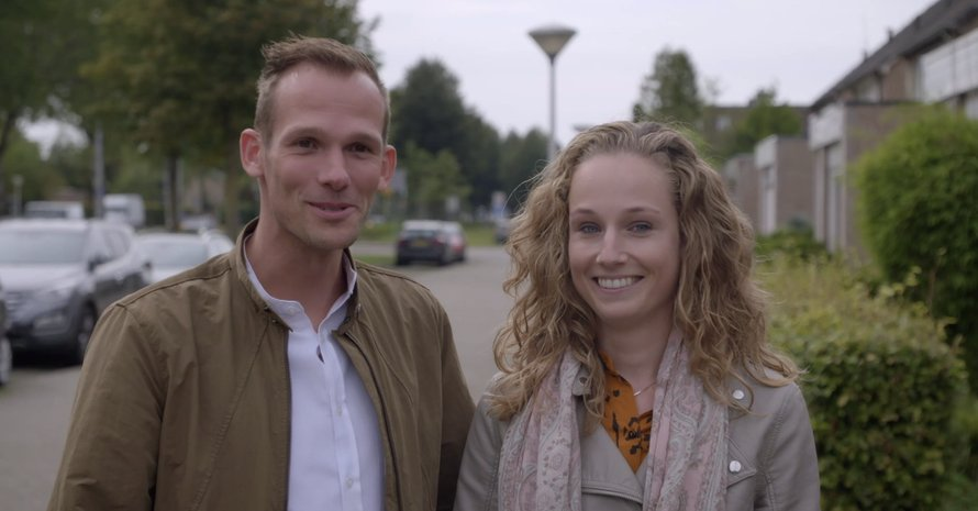 Lars en Lizzy in Married At First Sight