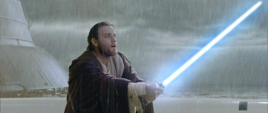 Ewan McGregor als Obi-Wan Kenobi in Attack of the Clones