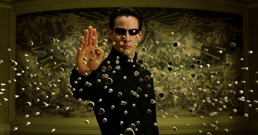 Keanu Reeves als Neo in The Matrix