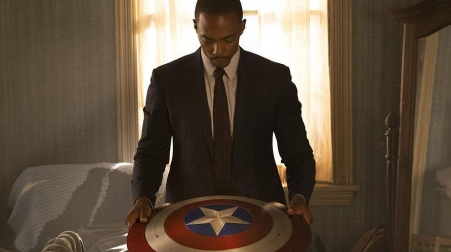 Anthony Mackie als Captain America in The Falcon and the Winter Soldier