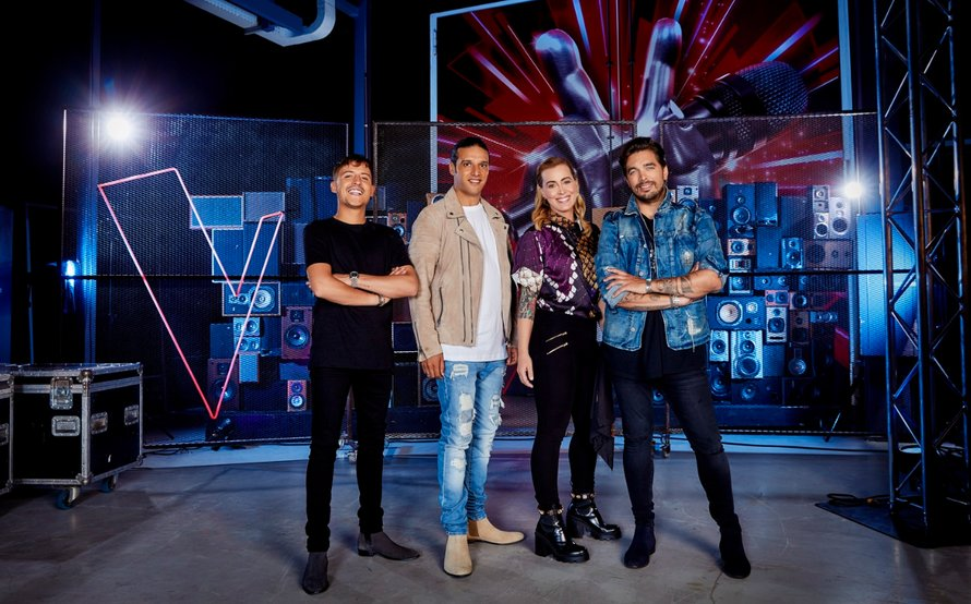 Groepsfoto Coaches The Voice of Holland 2020