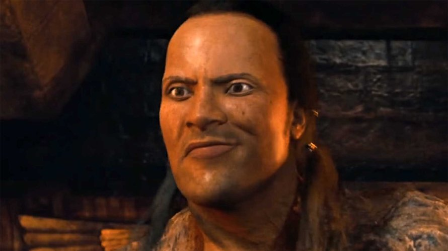 The Rock als Scorpion King