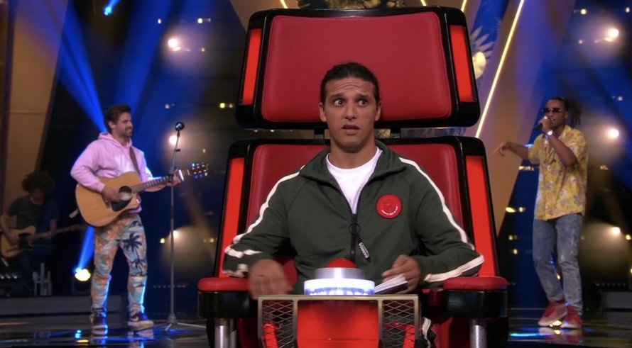 Ali B in The Voice of Holland