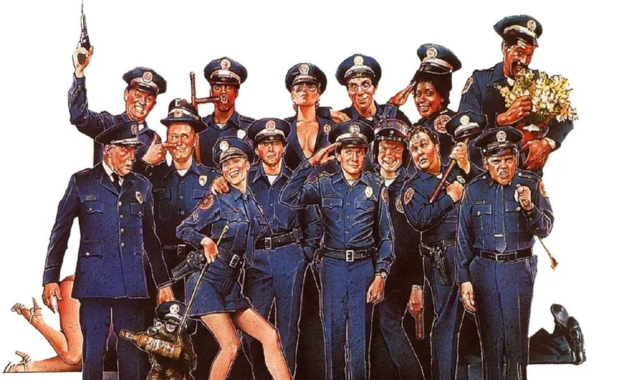 Marion Ramsey in Police Academy 1984