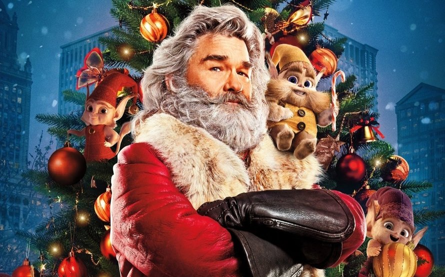 Kurt Russell als kerstman in The Christmas Chronicles 2