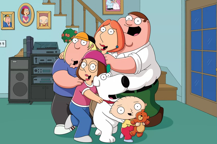 Family Guy familie Griffin