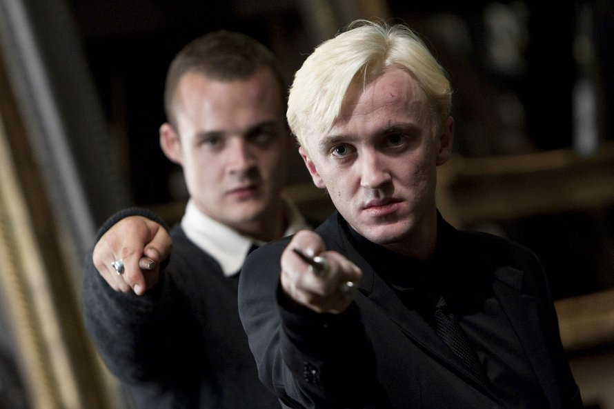 Tom Felton als Draco Malfoy in Harry Potter and The Deathly Hallows