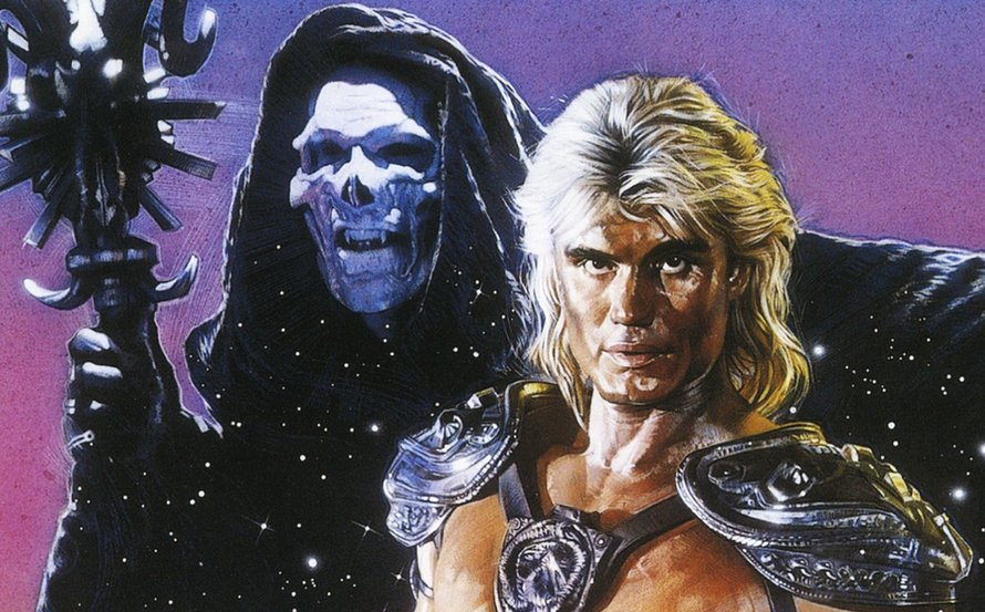 Dolph Lundgren in Masters of the Universe 1987