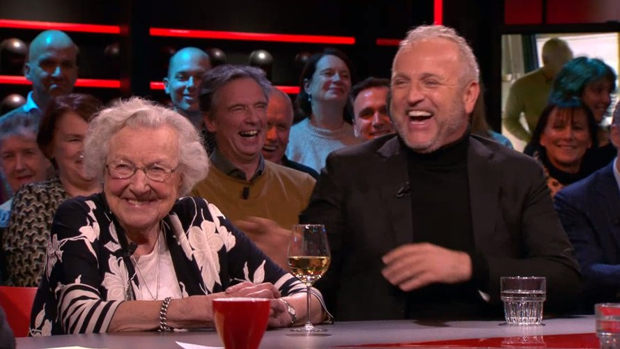 Lenie en Gordon in DWDD