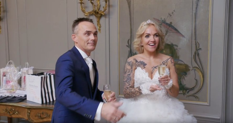 Chantal en Henk in Married at First Sight