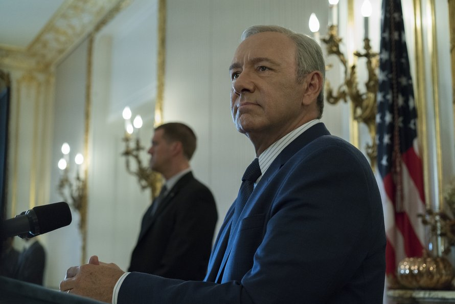 House of Cards, Kevin Spacey, complot