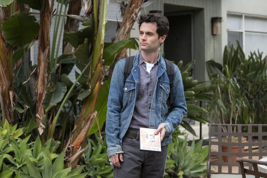 Penn Badgley als Joe Goldberg in YOU op Netflix