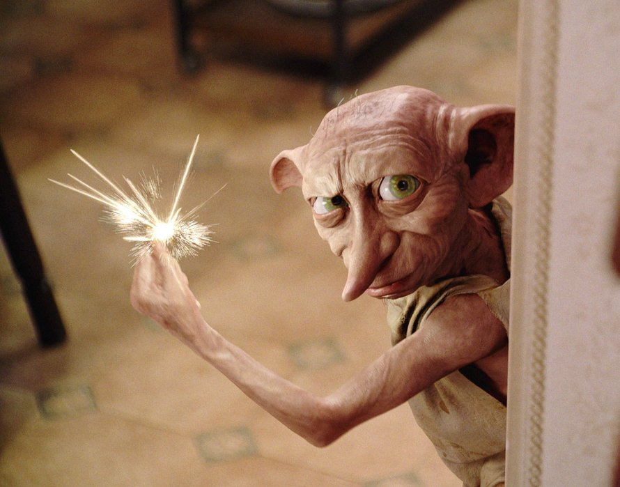 Dobby in Harry Potter and the Chamber of Secrets