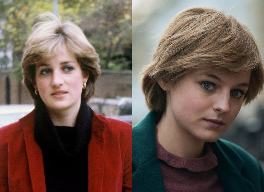 The Crown, prinses Diana vs Emma Corrin