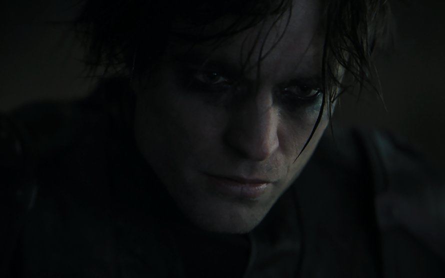 Robert Pattinson als Batman in The Batman van Matt Reeves