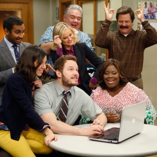 De cast van Parks and Recreation