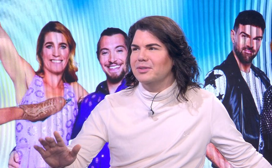 Roy Donders over Dancing on Ice