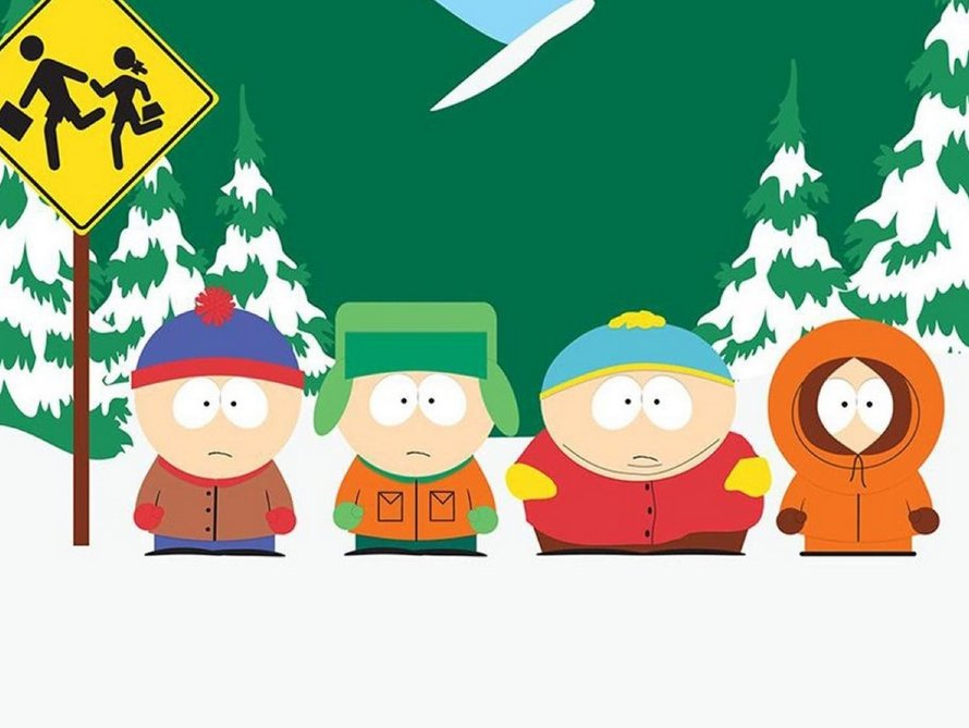 South Park op comedy central