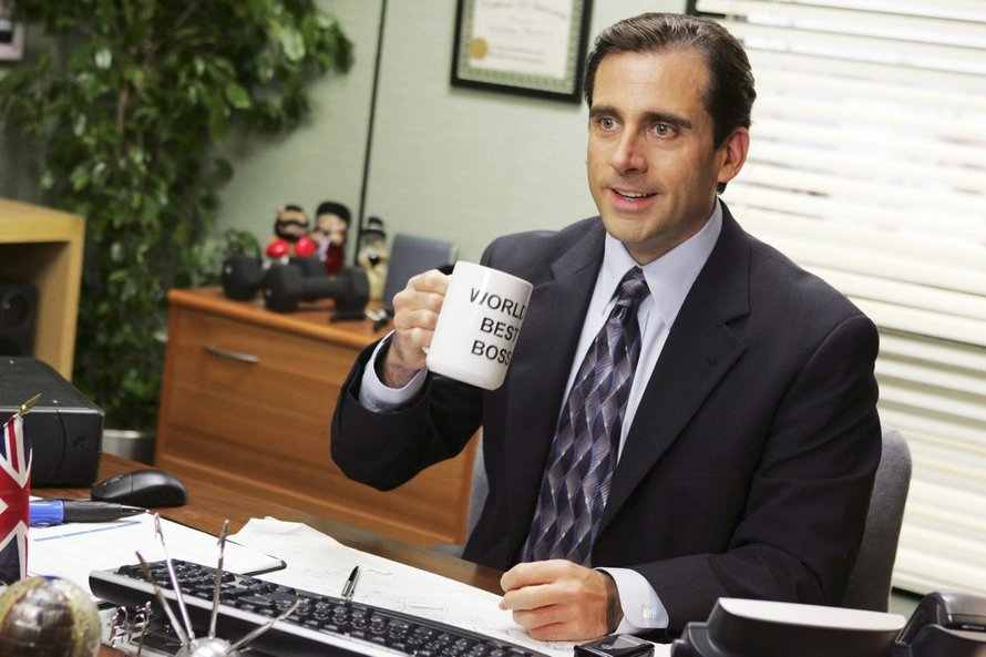 Steve Carell in The Office