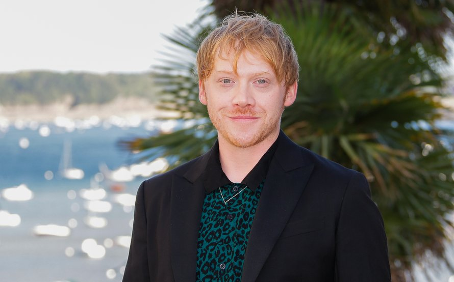Acteur Rupert Grint uit de Harry Potter-films