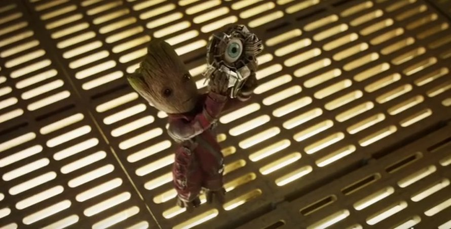 Guardians of the Galaxy vol. 2 Groot met reserve oog