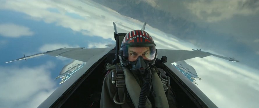 Tom Cruise als Maverick in Top Gun: Maverick