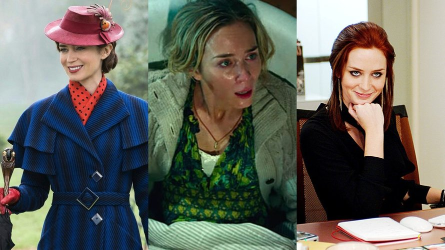 Emily Blunt in Mary Poppins Returns, A Quiet Place en The Devil Wears Prada