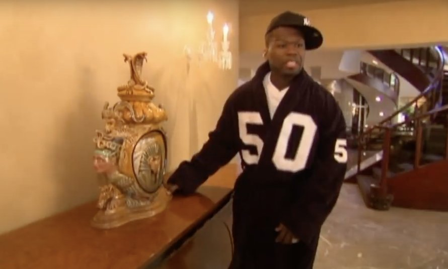 50 Cent in MTV Cribs
