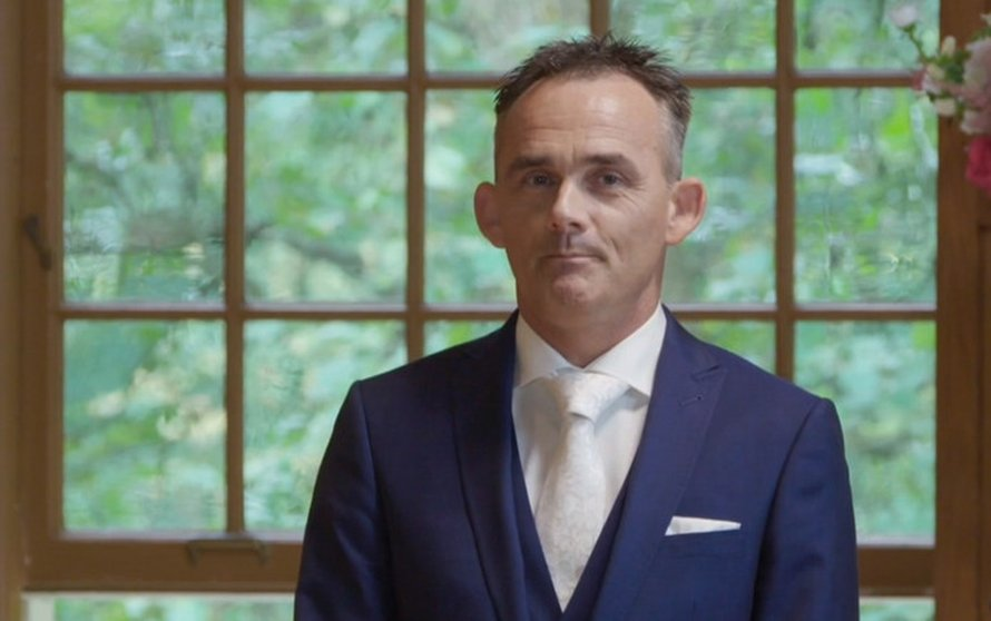 Henk in Married At First Sight op RTL 4