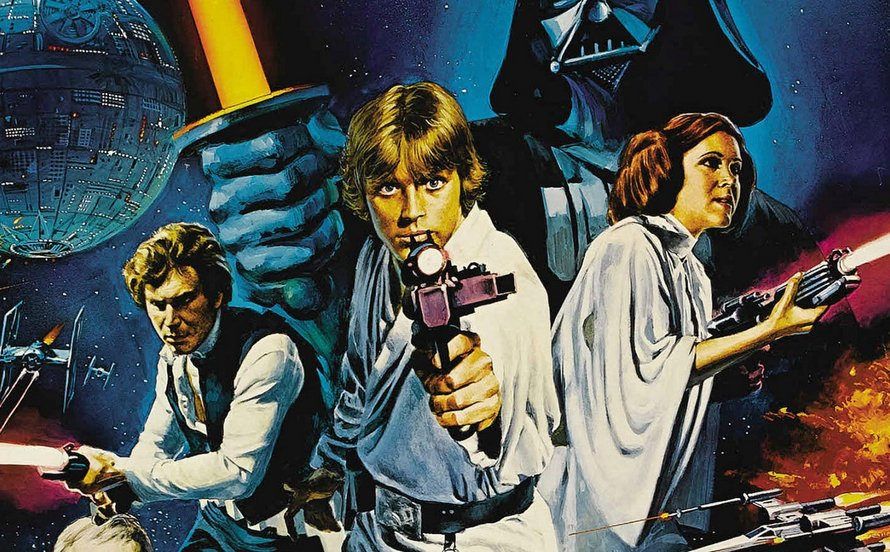Star Wars A New Hope uit 1977