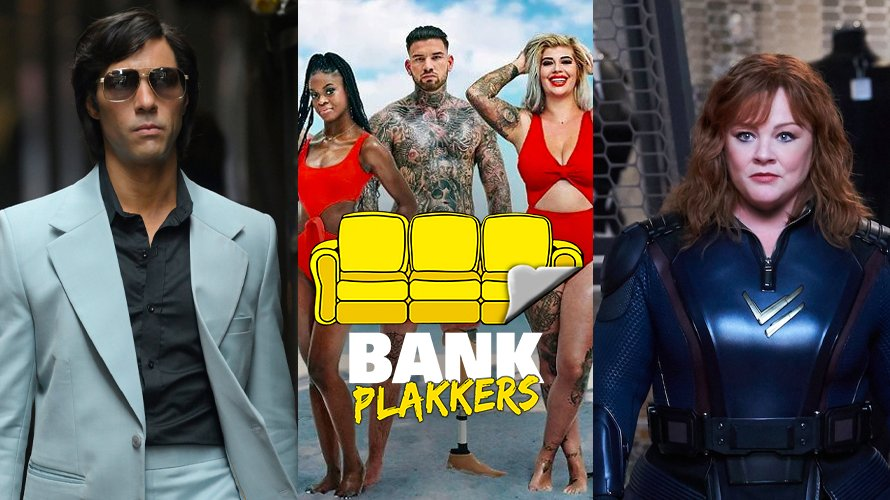 Bankplakkers, The Serpent, Ex on the Beach: Double Dutch, Thunder Force