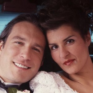 Nia Vardalos in My Big Fat Greek Wedding