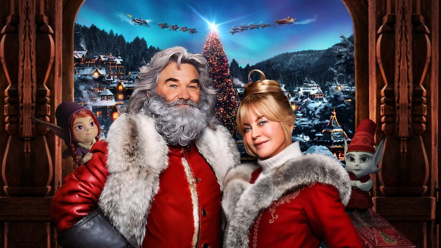 Kurt Russell en Goldie Hawn in The Christmas Chronicles 2 op Netflix 2020